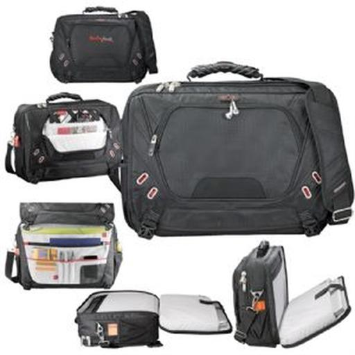 Elleven™ Checkpoint-Friendly Compu-Messenger Bag
