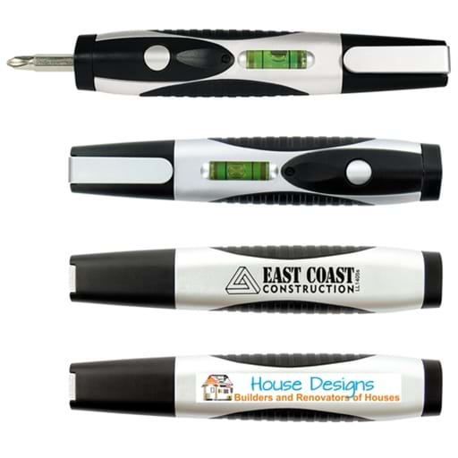 Duo Screwdriver / Spirit Level / LED Light