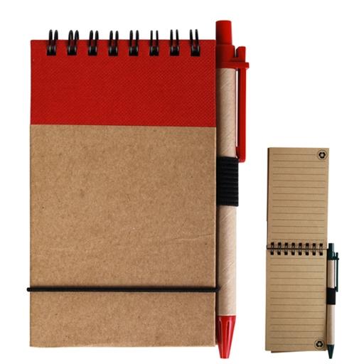 Tradie Cardboard Notebook With Pen