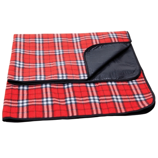 Antigua Picnic Rug, Red Check