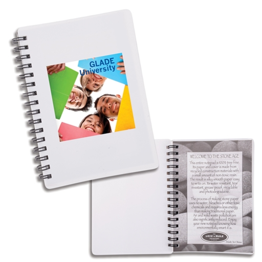 Discovery Stone Paper Notebook