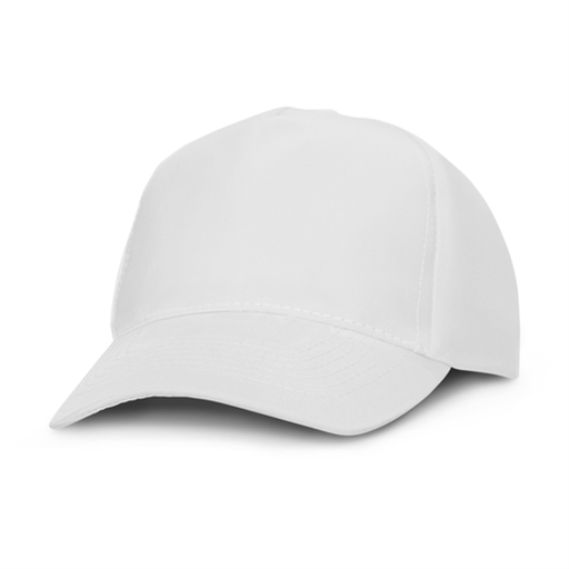 Oregon 5 Panel Cap - White Panels