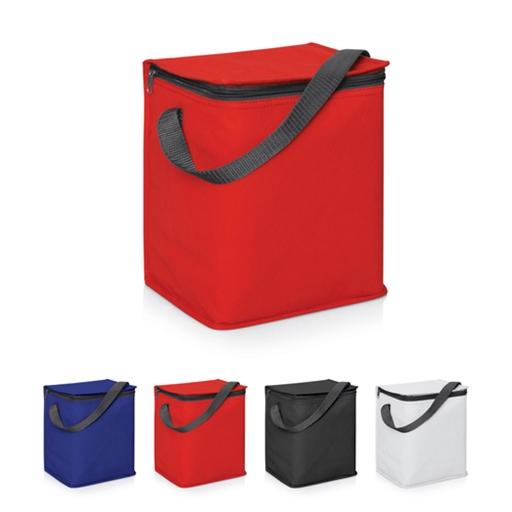 6 Bottle/12 Can Cooler Bag W/Carry Strap - 5L