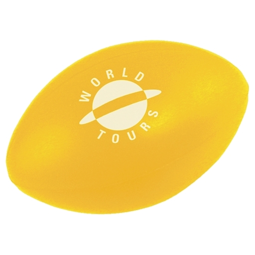 Stress Rugby Ball, Solid Colour