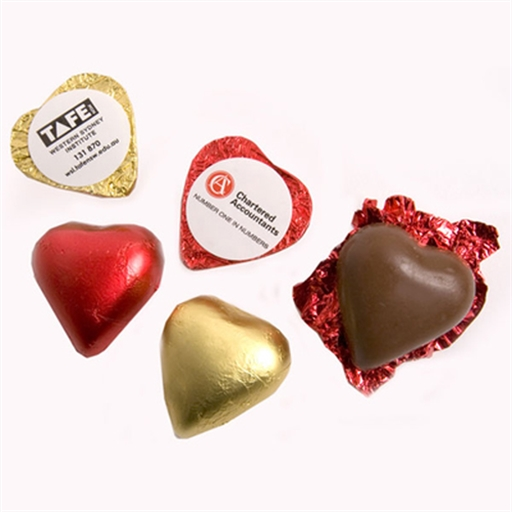 Chocolate Heart 7G (Pink, Red Or Gold Heart)