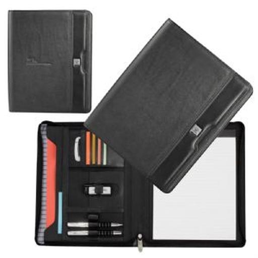 Cutter & Buck® A4 Zippered Compendium