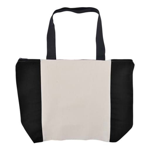 Carry All Calico Zip Bag - 305 GSM