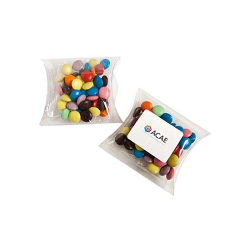 Choc Bean Pillow Pack 50G (Mixed Colours)