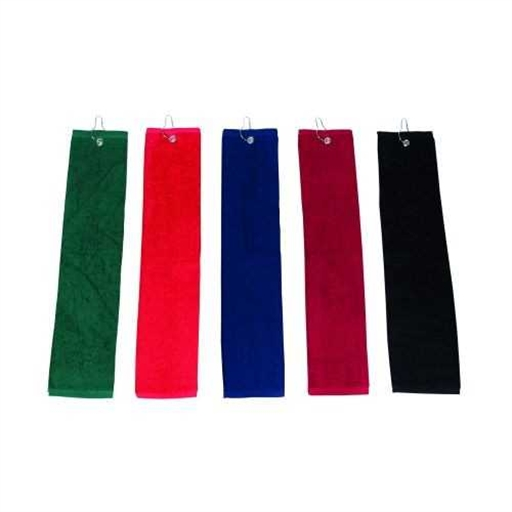 ELITE Small Golf Towel With Hook And Grommet.