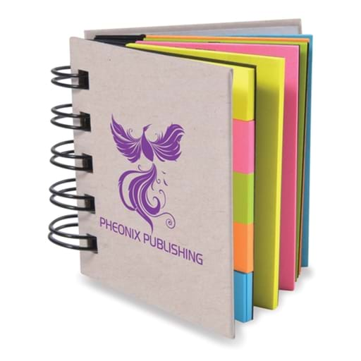 Spiral Book With Noteflags