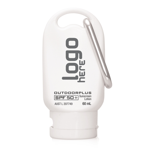 Sunscreen - Australian Made SPF 50+ On Carabiner 60Ml