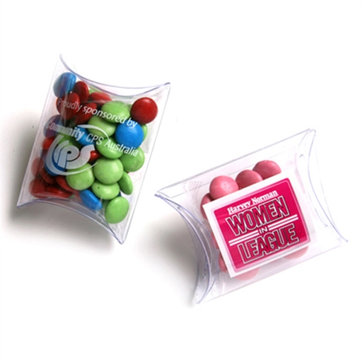 Choc Bean Pillow Pack 25G (Corporate Colours)