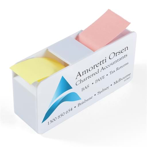 Duo Sticky Note Dispenser
