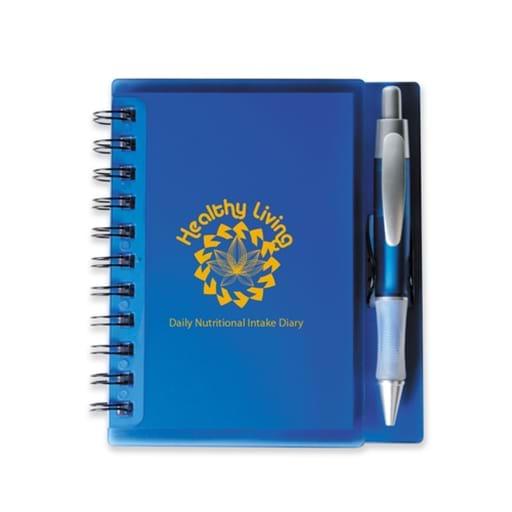 Merchant Spiral Notebook With Pen