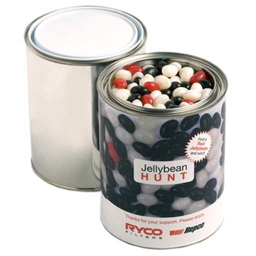Frosted Noodle Box - Jelly Beans 1KG (Mixed Colours Or Corporate Colours)
